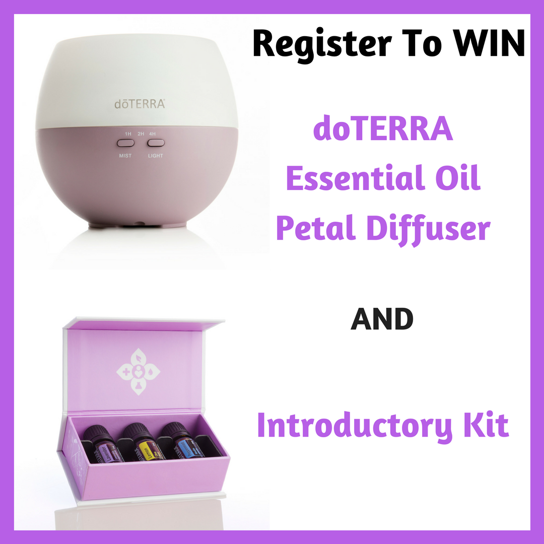 Doterra Essential Oil Petal Diffuser And Introductory Kit Giveaway